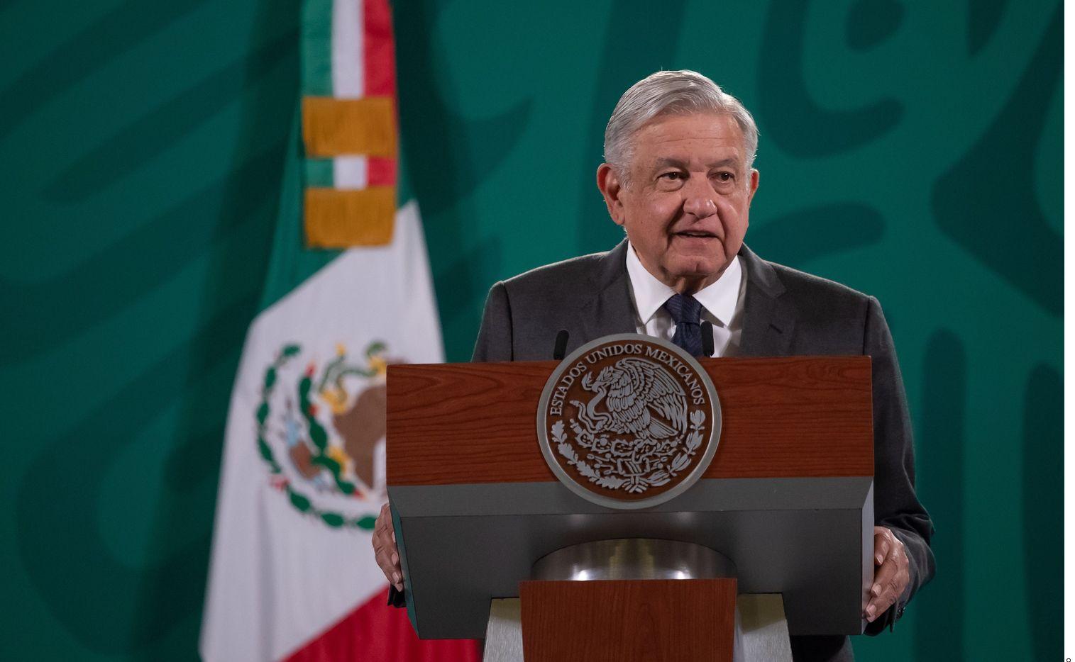 Fotografía de archivo del presidente de México, Andrés Manuel López Obrador, quien dijo el 3 de agosto de 2021 que su gobierno no utiliza el programa de espionaje Pegasus.