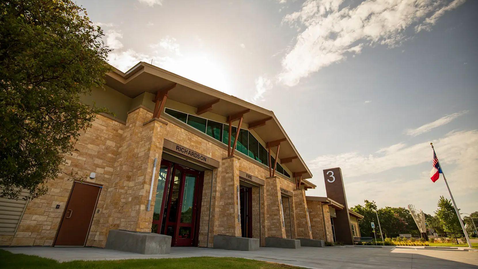 Richardson's new Fire Station 3