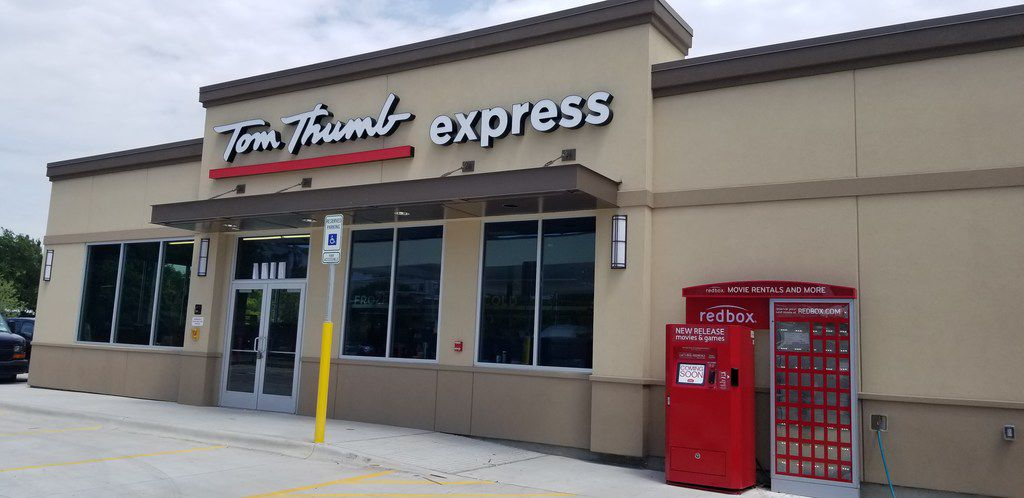 Tom Thumb Express convenience store will open June 20 just east of Downtown Dallas at 2720 Live Oak Street at the intersection of Texas St. The store will have six gasoline pumps.