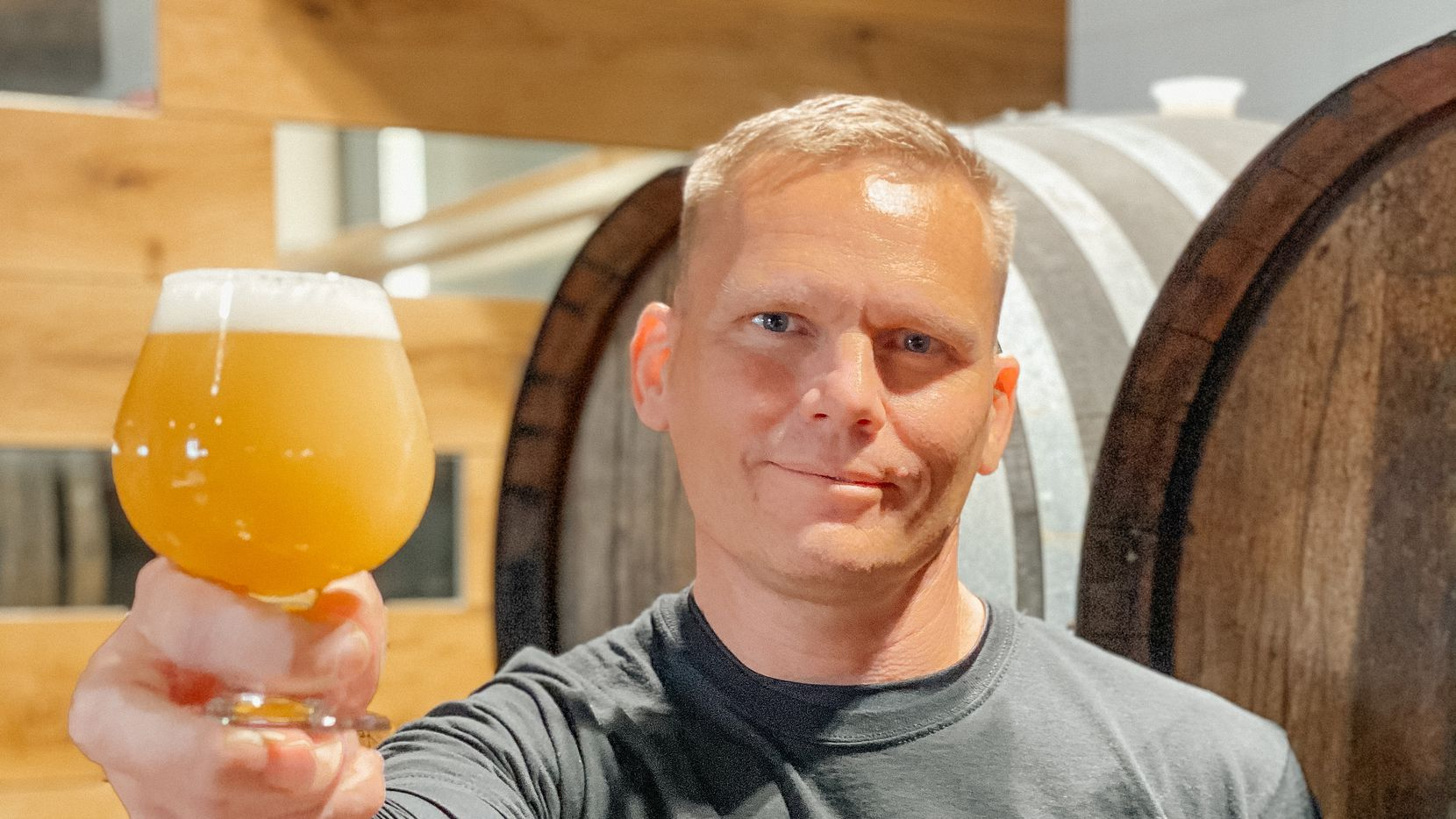 Whole Foods Market Brewing Company is run by Master Brewer, Chris Shelton.