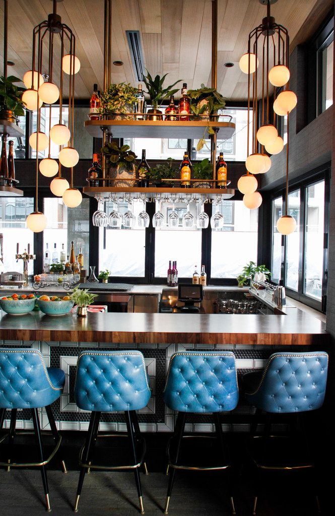 """The vibe at The Henry is """"Ralph Lauren meets post modern,"""" says restaurateur Sam Fox."""