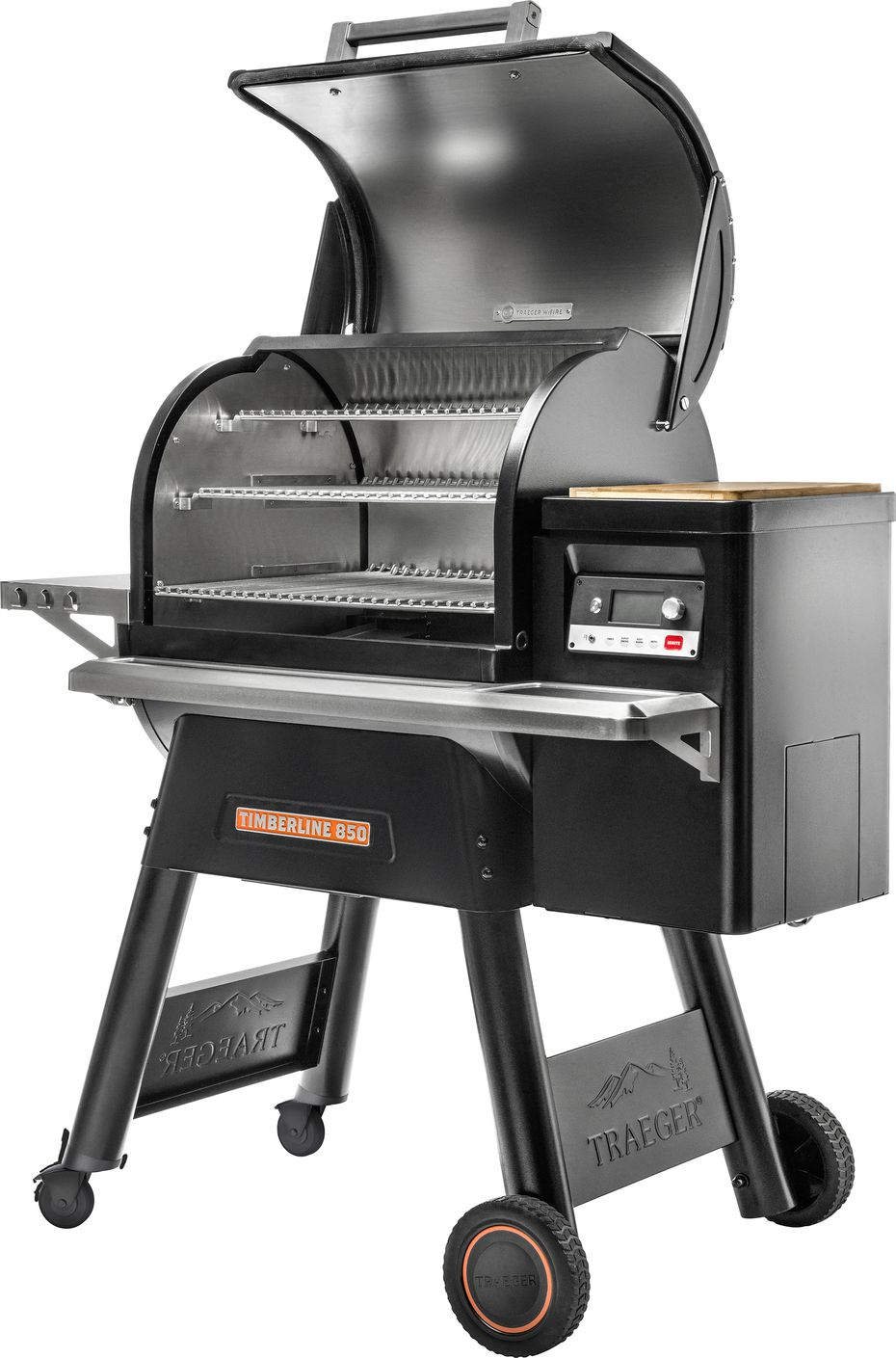 The Traeger Timberline 850 pellet grill.