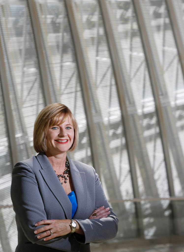 Dallas Symphony president and CEO Kim Noltemy is pictured at the Meyerson Symphony Center in this file photo.