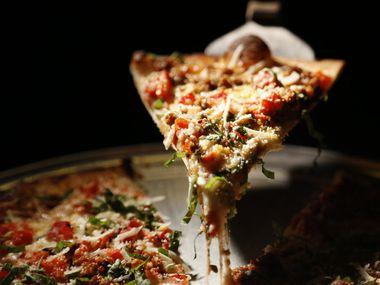 Farmer's Pie at Cadillac Pizza Pub in McKinney