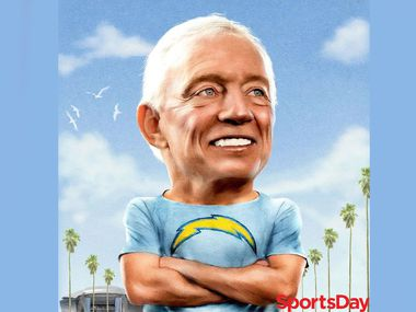 Jerry Jones as the owner of the Chargers?