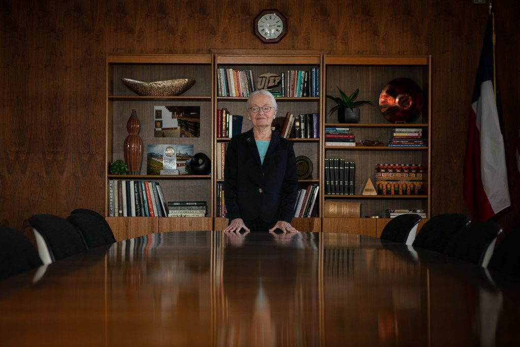 Diana Natalicio, outgoing president at the University of Texas at El Paso, will be retiring this year after 30 years leading UTEP.