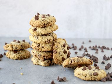 Monk Fruit Chocolate Chip Cookies