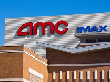 Tukwila, USA - August 6, 2013: AMC Theatre in Tukwila Washington.  AMC is an abbreviation for American Multi-Cinema.  It is a large movie chain in North America with theatres all over the country.