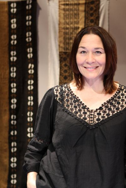 Sally Nystuen-Vahle is one of the actors performing in God of Carnage at the Kalita Humphreys Theater.