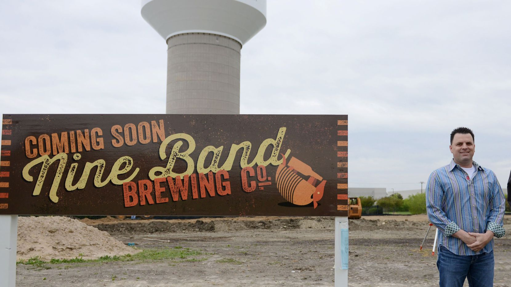 Keith Ashley, owner Nine-Band Brewing Company in Allen on April 17, 2014. (Rose Baca/Neighborsgo Staff Photographer)