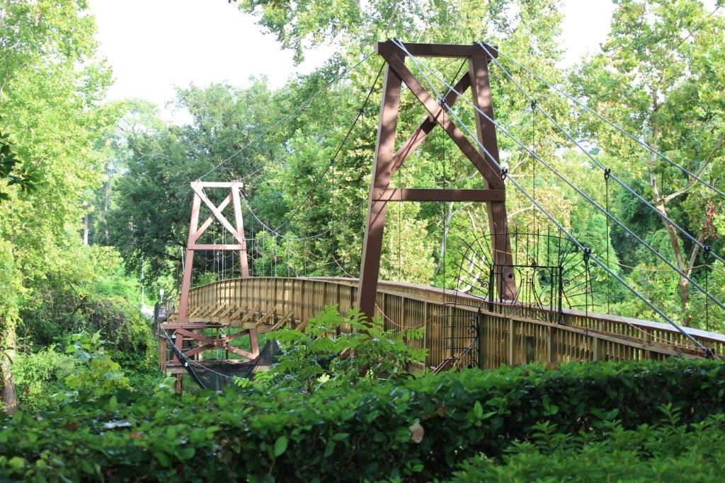 Bayou Bend bridge