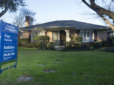 Dallas-area home prices were 2.6% higher in January than a year earlier.