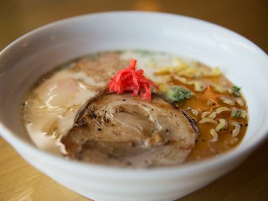 George Itoh and Andy Tam took tonkotsu off the menu at Ichigoh Ramen Lounge because the broth is extremely labor intensive to make from scratch.