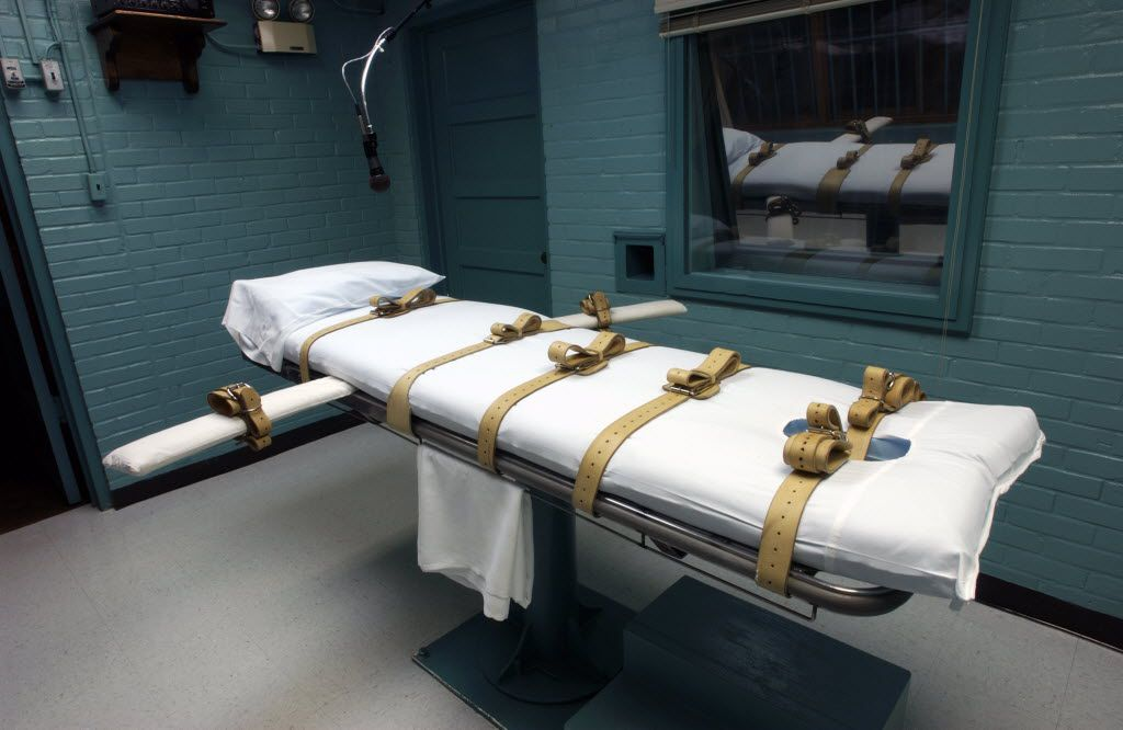 Alvin Avon Braziel Jr., 43, was executed Tuesday by  lethal injection in the death chamber at Huntsville prison.
