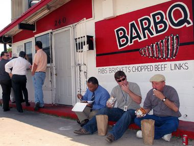 Meshack's Bar-B-Que Shack in Garland had its wood stolen during the extreme weather last month.