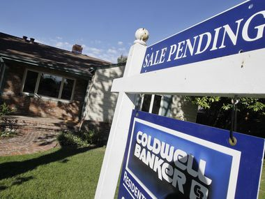 Fewer homes are under contract for sale in D-FW and nationwide because of the pandemic.