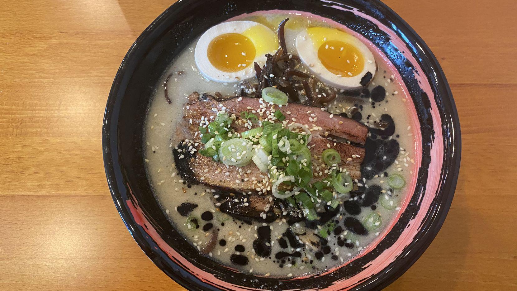 The tonkotsu at Kintaro in Arlington