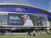 El Ford Center es la instalación de prácticas principal en The Star, el complejo sede de los Cowboys de Dallas, en Frisco, Texas.