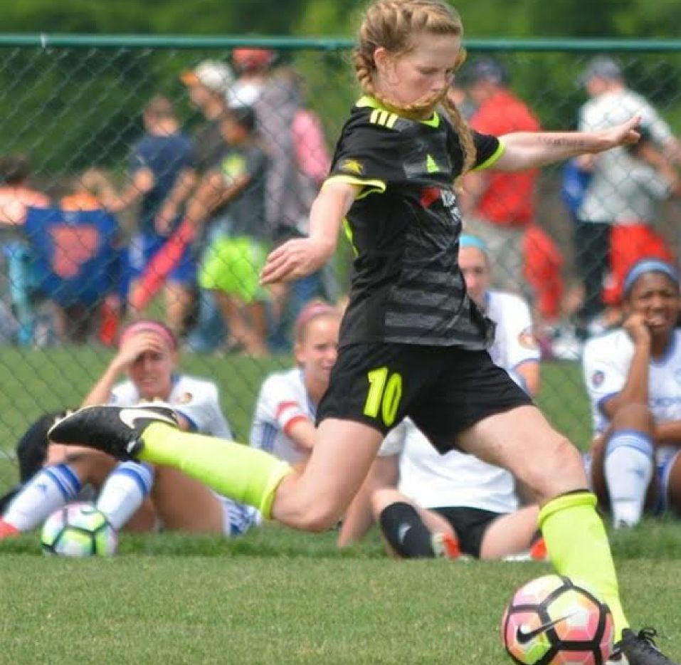 Alexis Missimo plays for the Solar Chelsea club program and will be a freshman at Southlake Carroll this fall.