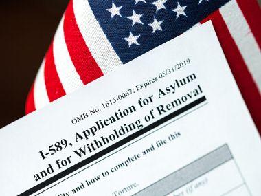 Solicitud de asilo en Estados Unidos.