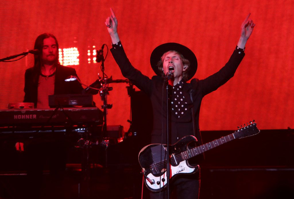 Beck performs at the Toyota Music Factory in Irving, TX, on Mar. 23, 2018. (Jason Janik/Special Contributor)