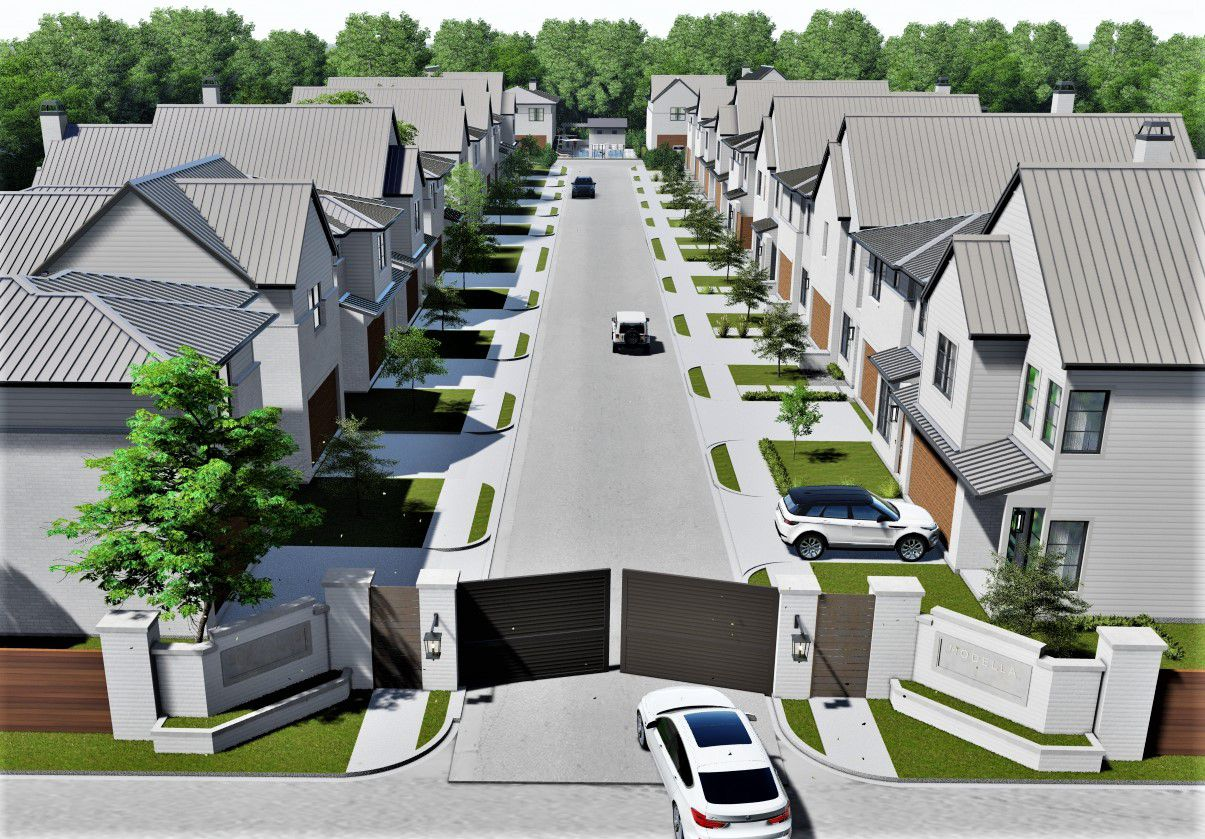 Modella Park is a high-density residential community.