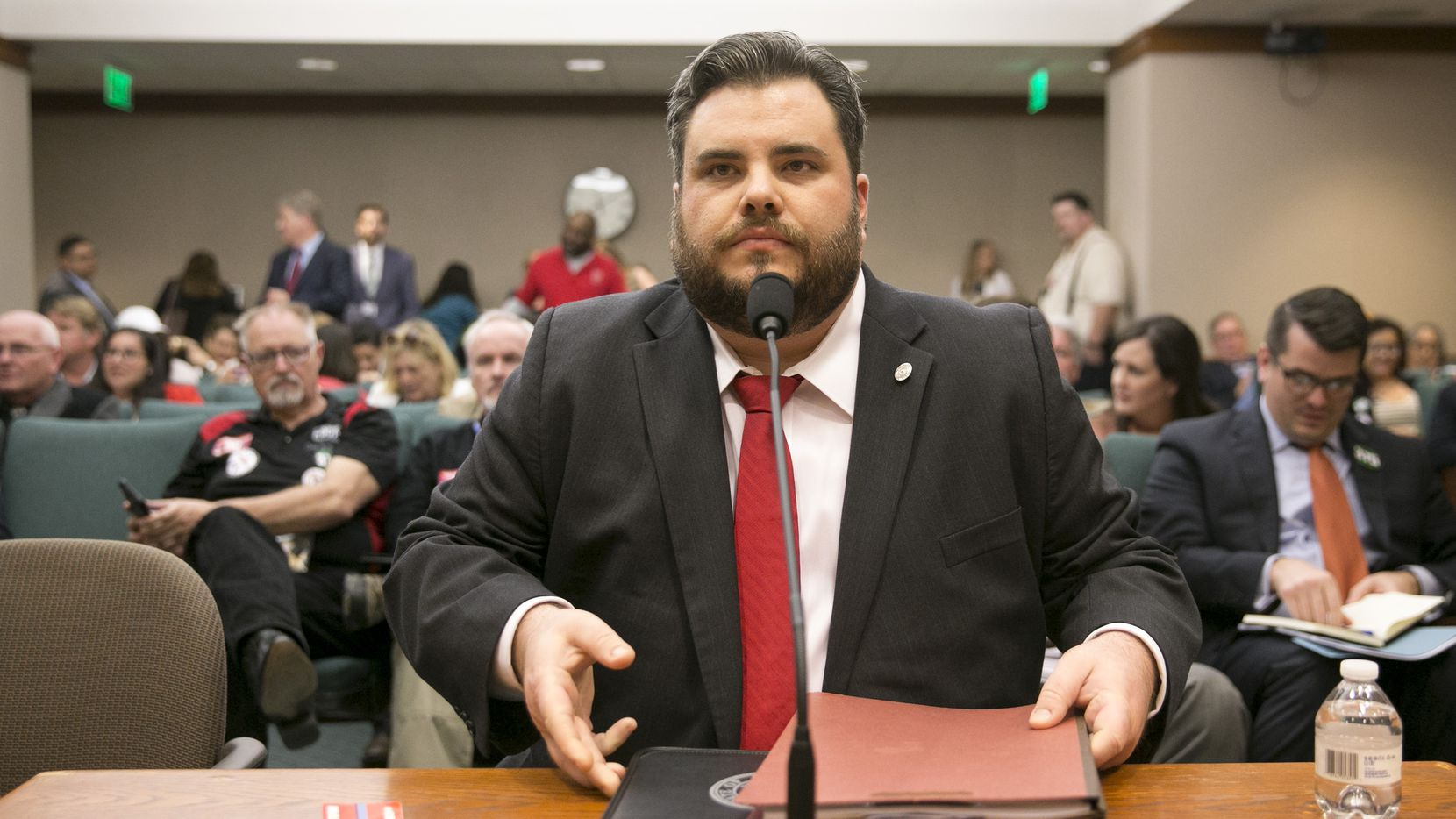 "Rep. Jonathan Stickland, R-Bedford, has produced almost no documentable successes as a legislator. ""I know I'm going to lose,"" he says.  ""So almost everything I do is calculated. ... That may not pay dividends in this building. But it's part of a greater plan."""