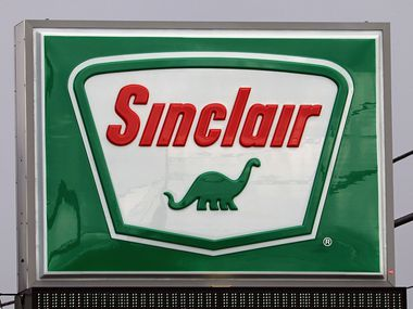 Sinclair Oil Co. is well known for its dinosaur branding.