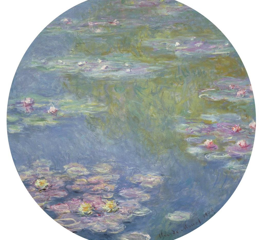 Claude Monet, Water Lilies, 1908, oil on canvas, Dallas Museum of Art, gift of the Meadows Foundation,