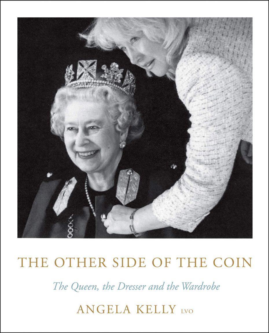"""The Other Side of the Coin: The Queen, the Dresser and the Wardrobe"" was written by Angela Kelly, the personal adviser, curator and senior dresser to the queen."