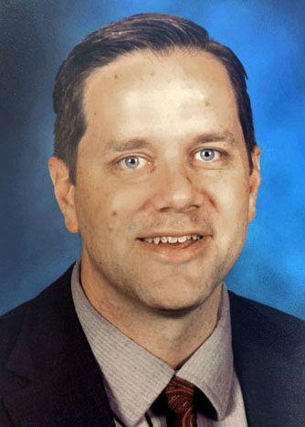 Aaron Else, principal of Pete and Gracie Hosp Elementary School in Frisco ISD