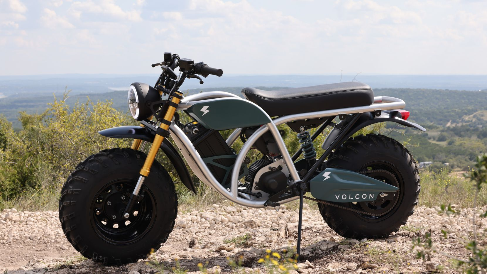 Volcon, which debuted in October, makes two-wheel and four-wheel electric off-road vehicles such as motorcycles and utility terrain vehicles.