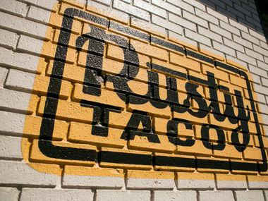 The first Rusty Taco opened on Greenville Avenue in Dallas in 2010. Buffalo Wild Wings bought a majority stake in the company in 2014. Both brands now are part of Inspire Brands, one of the largest restaurant companies in the U.S. Rusty Taco now has 27 restaurants in six states, including at least a dozen in North Texas.