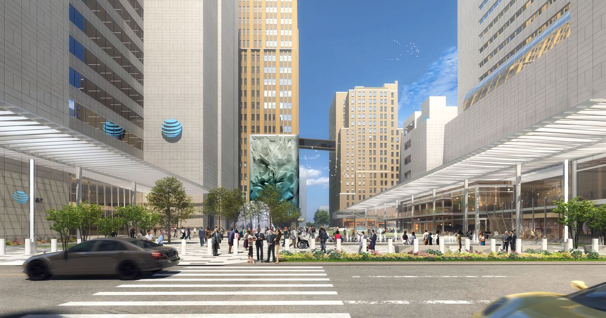 AT&T's downtown Dallas district will draw thousands with entertainment, eats and digital displays