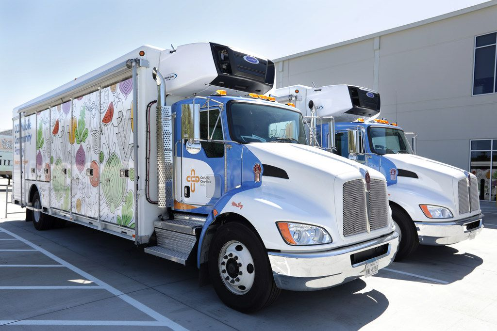 Catholic Charities Dallas' partnership with North Texas Food Bank has resulted in two new mobile food pantries. We need many, many more.