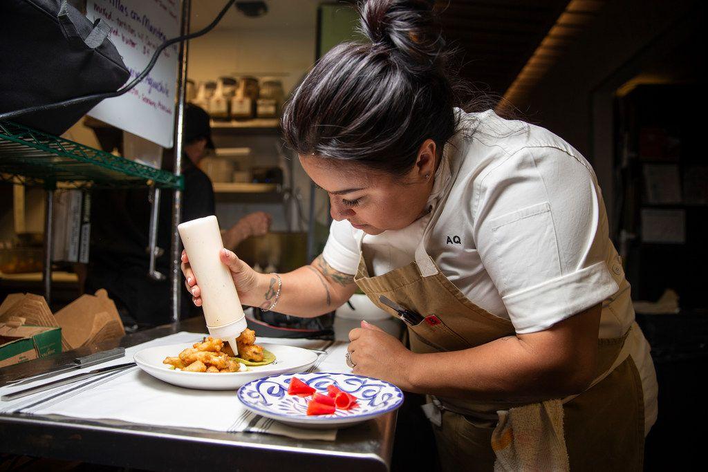 Chef Anastacia Quiñones