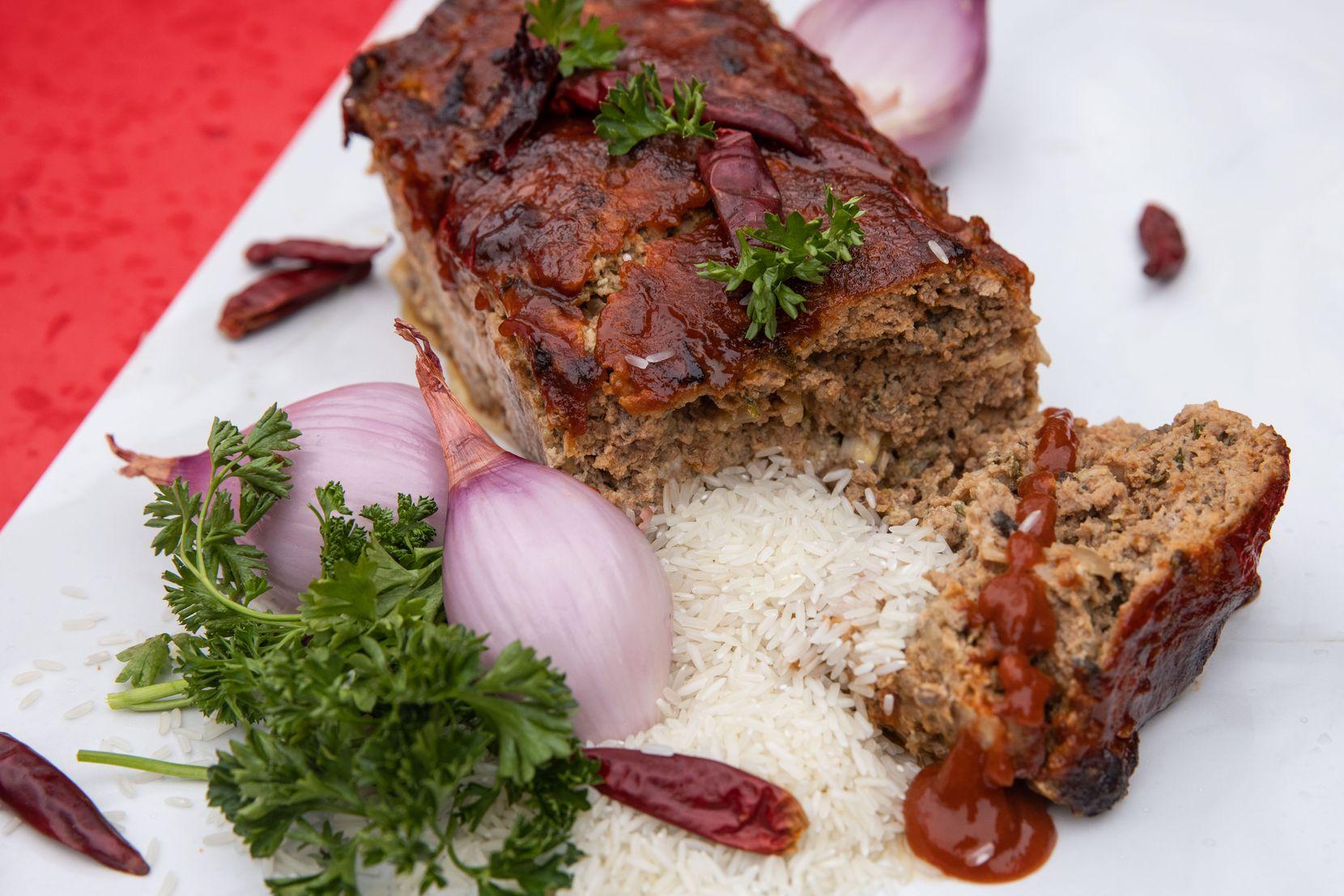 Thai meatloaf