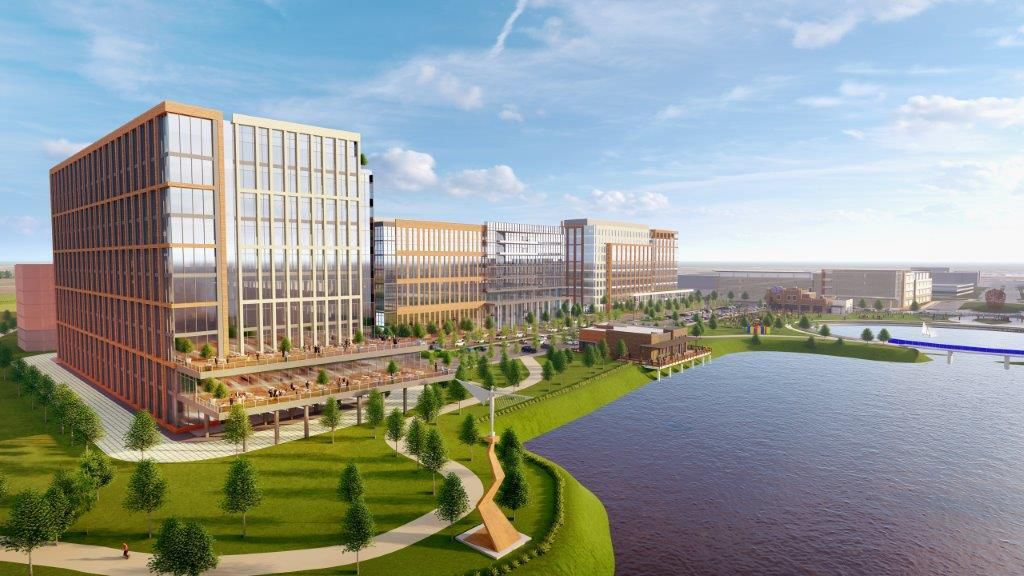 Verily's Dallas office will be in the Cypress Waters development.
