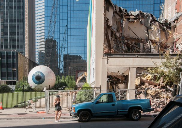 The remains of the Praetorian Building, photographed on Wednesday, Sept. 24, 2014.