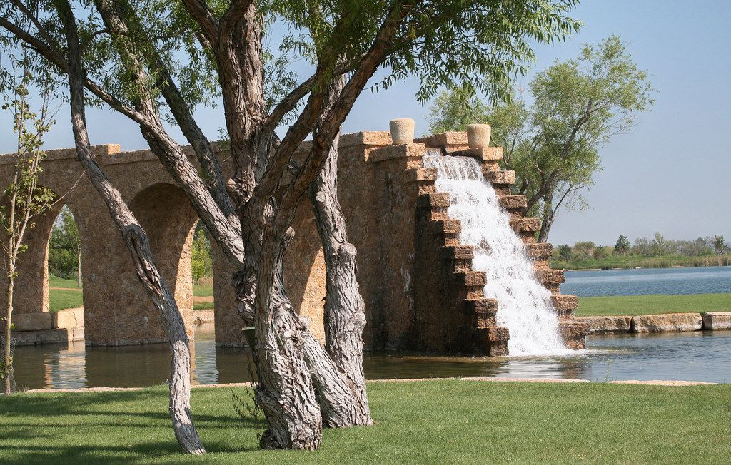 Mesa Vista Ranch boasts roughly 12 miles of water features including waterfalls, lakes, ponds and creeks, which makes its possibly the largest individual water park.
