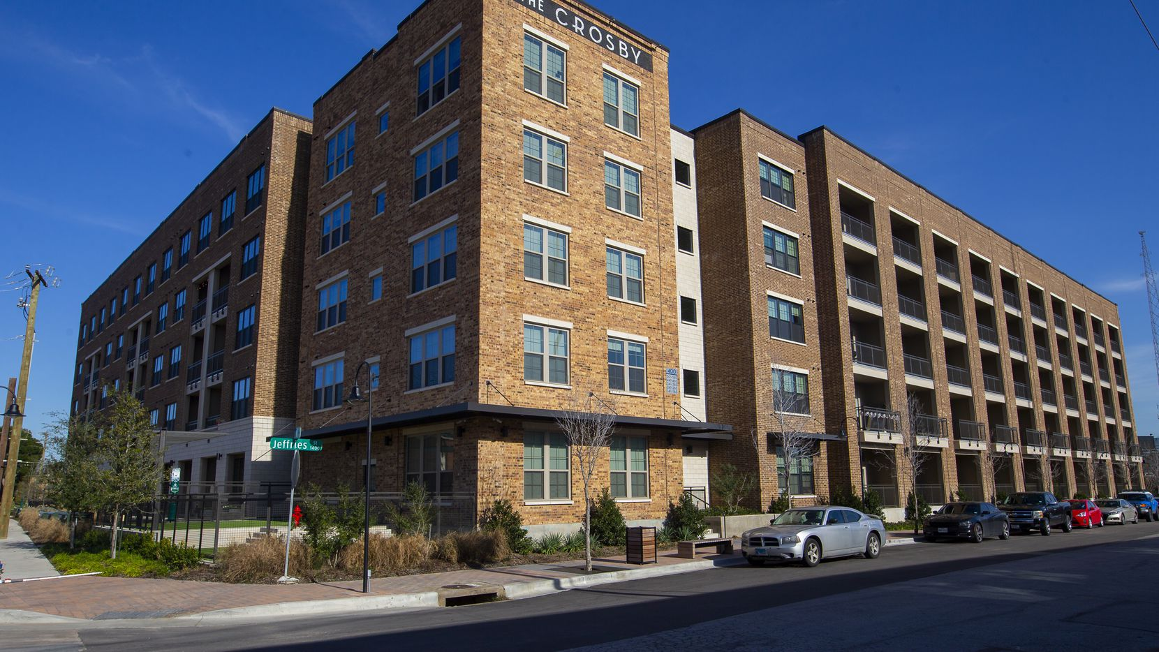 The Crosby apartments at 400 S. Hall St. in Deep Ellum have 336 units.