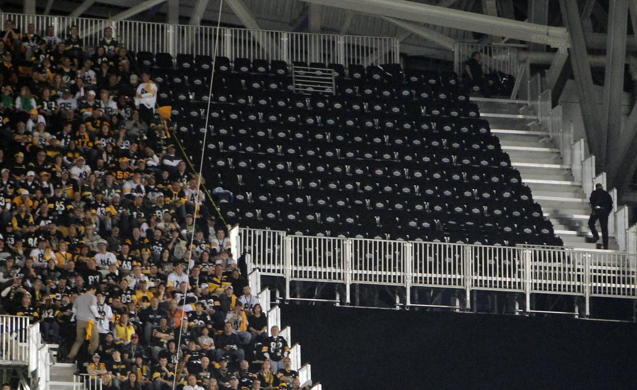 The NFL on Thursday was ordered to pay a combined $76,000 to a group of plaintiffs who sued over seating issues at Super Bowl XLV in February 2011 at AT&T Stadium in Arlington. Some ticketholders' seats weren't availble for the game because temporary bleachers weren't completed in time, while others complained of obstructed views.