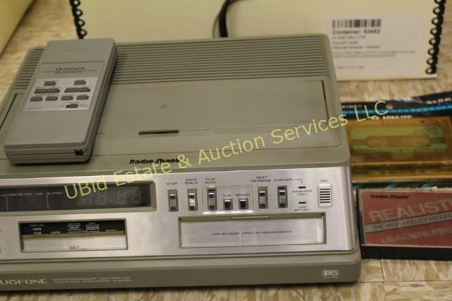 "Only four bids had come in as of July 4 for a RadioShack Duofone Microprocessor, which looks like a souped-up answering machine. It's waiting for someone to top a $3.50 bid by someone named ""Bucket of Rage."""