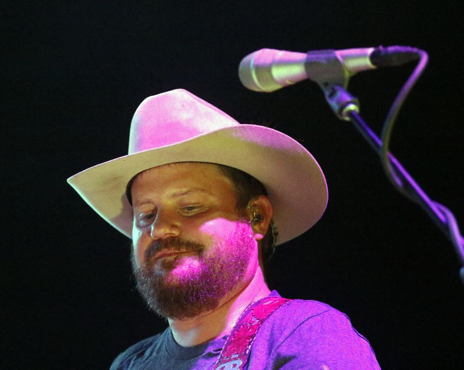 Randy Rogers of the Randy Rogers Band performed at Gexa Energy Pavilion in Dallas on Aug. 1, 2015. Rogers will headline the opening night of the festival, which is June 4 and 5 in downtown McKinney.