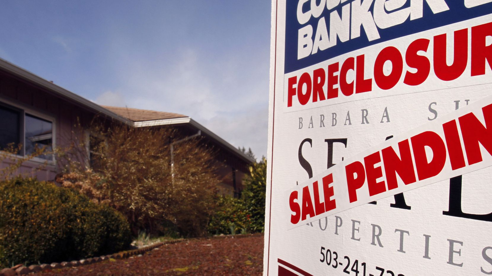 Federal programs have kept home foreclosures low since the start of the COVID-19 pandemic.