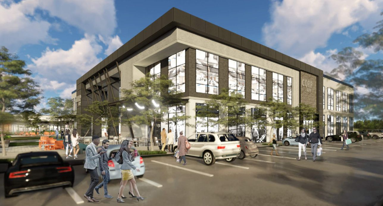 The renovations will add 50,000 square feet of offices.