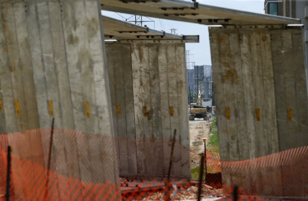 Construction is expected to wrap up early next year.