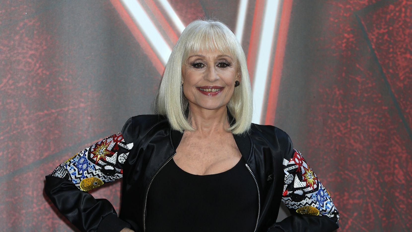 Raffaella Carrá era parte del jurado de The Voice, versión Italia. Foto de mayo de 2016 en Milán.