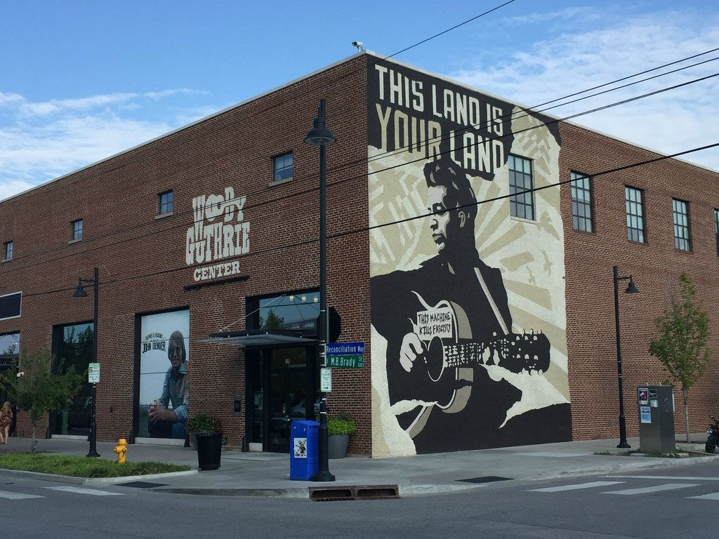 The Woody Guthrie Center, in the Tulsa Arts District, explores the life and music of the iconic folk singer and activist.