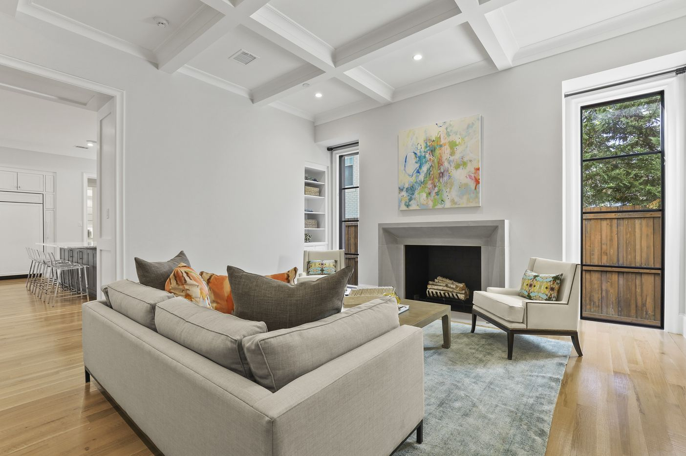 A look at the property at 3414 Beverly in Highland Park.